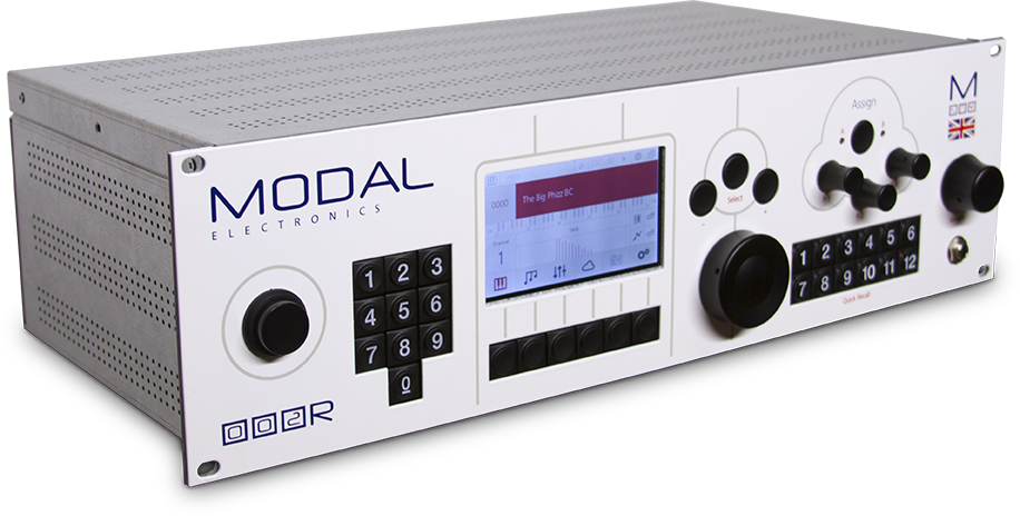 Modal Electronics 002R 12-Voice Rackmount Hybrid Polyphonic Synthesizer