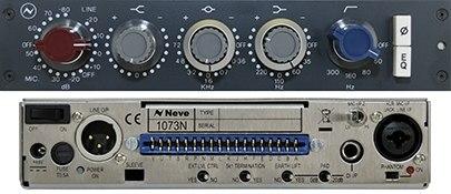 Neve 1073N standalone mono Microphone Preamp and EQ module