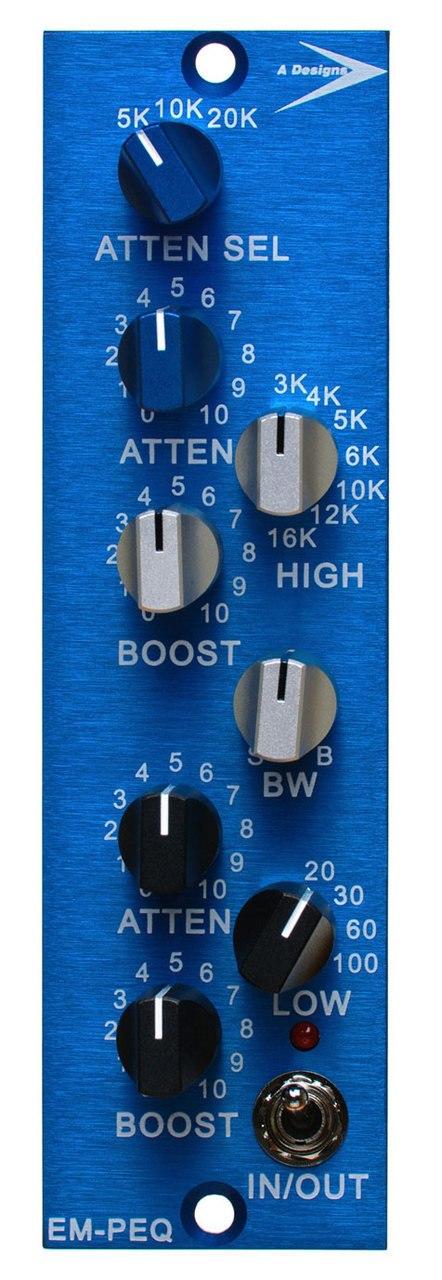 A-Designs EM PEQ 500-Series Pultec Style EQ Module