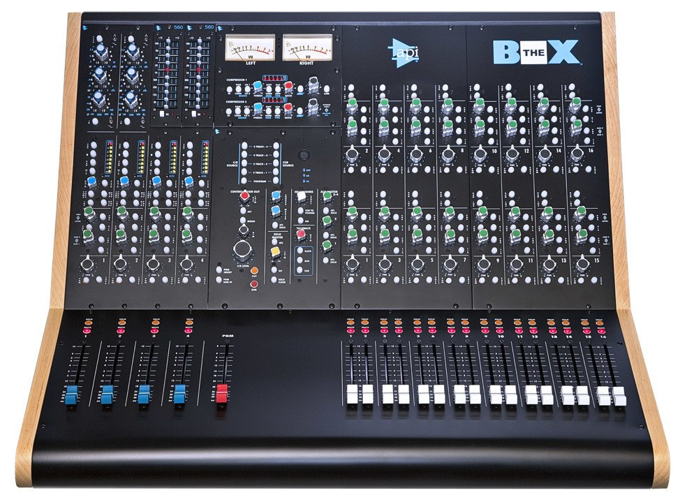 API The BOX Compact Summing Mixer and Recording Console