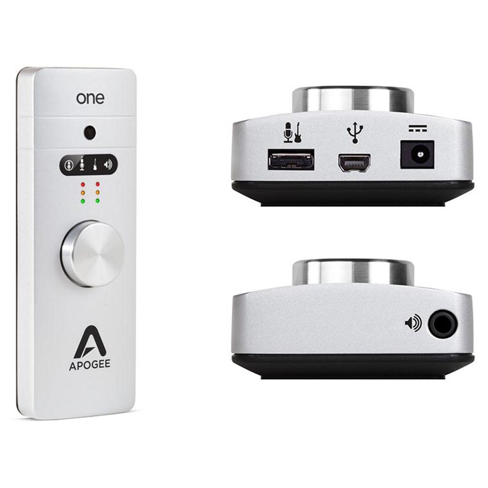 Apogee ONE for Mac, 2 IN x 2 OUT USB Audio Interface/Microphone