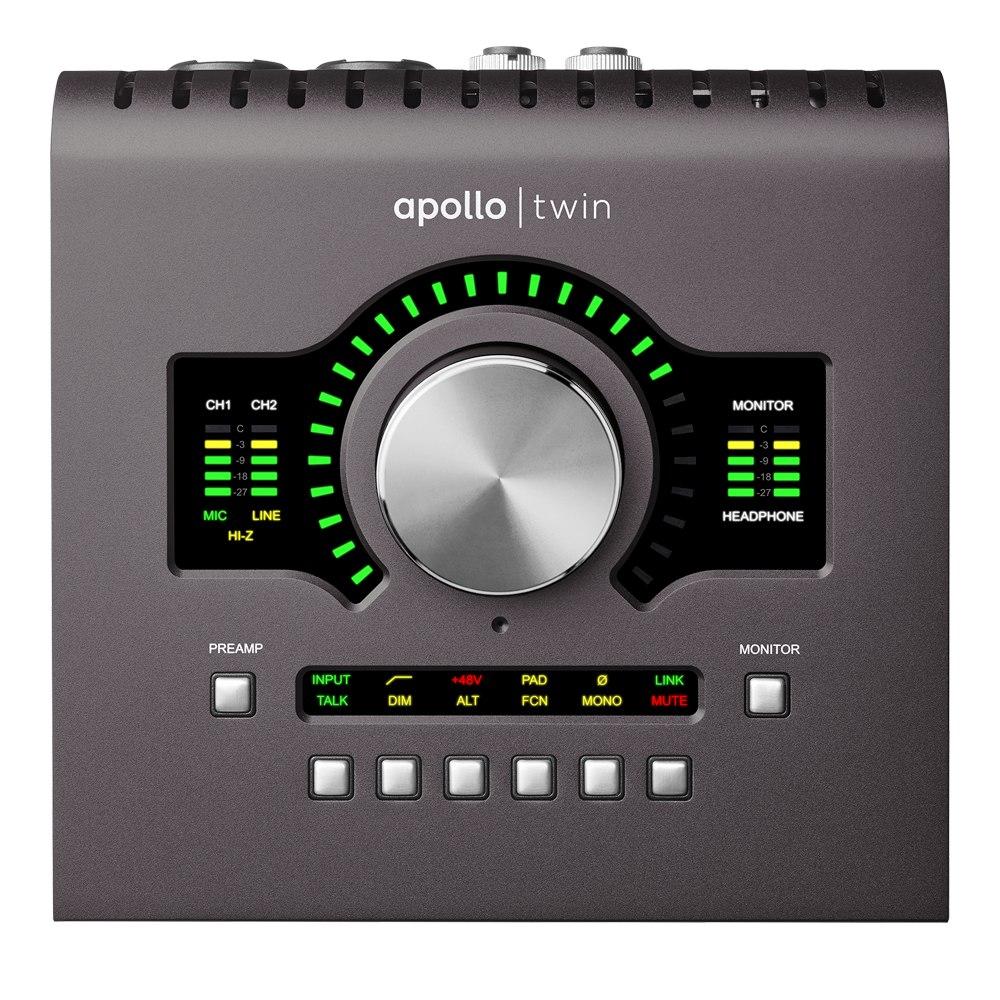 Apollo Twin QUAD MkII Thunderbolt Audio Interface