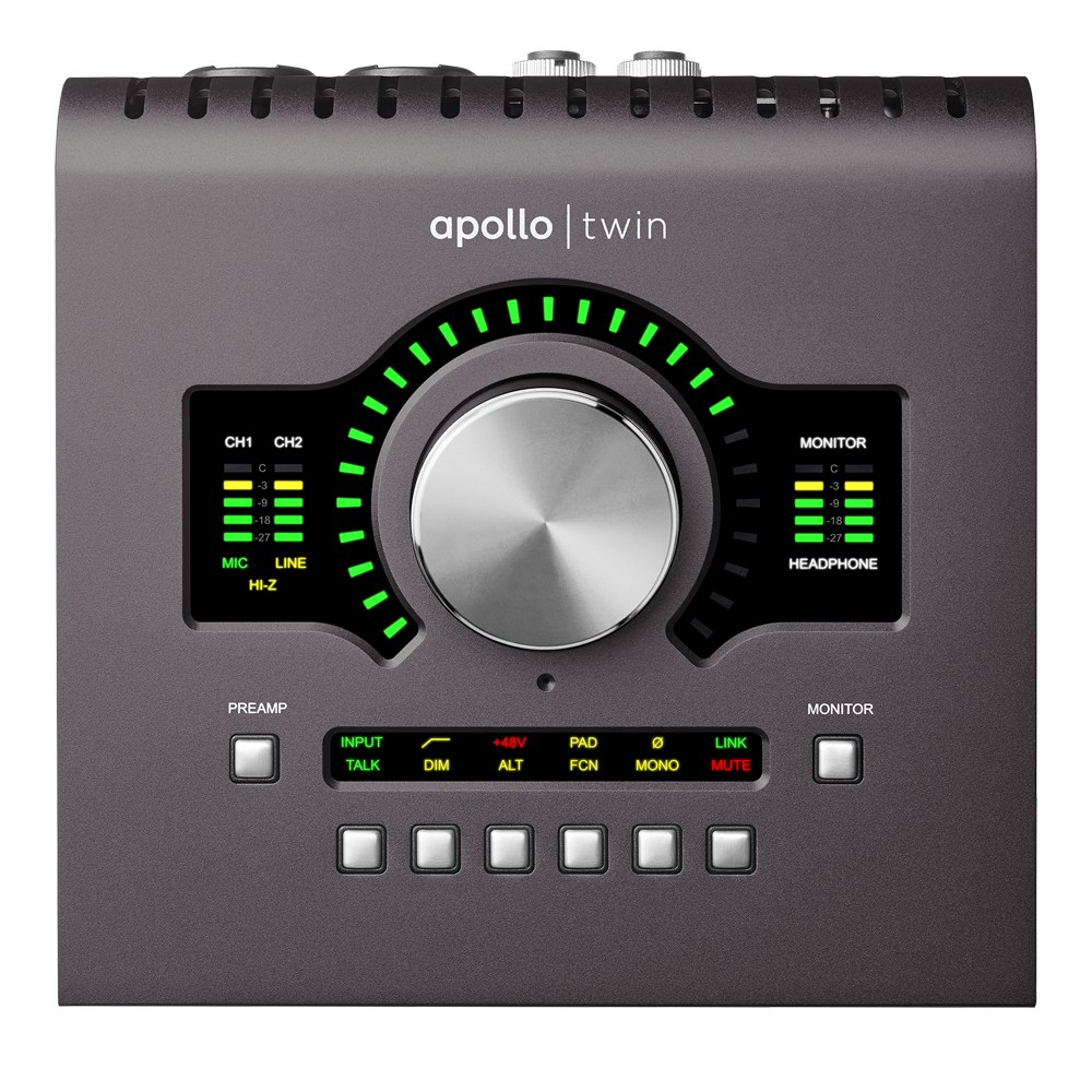 Apollo Twin DUO MkII Thunderbolt Audio Interface