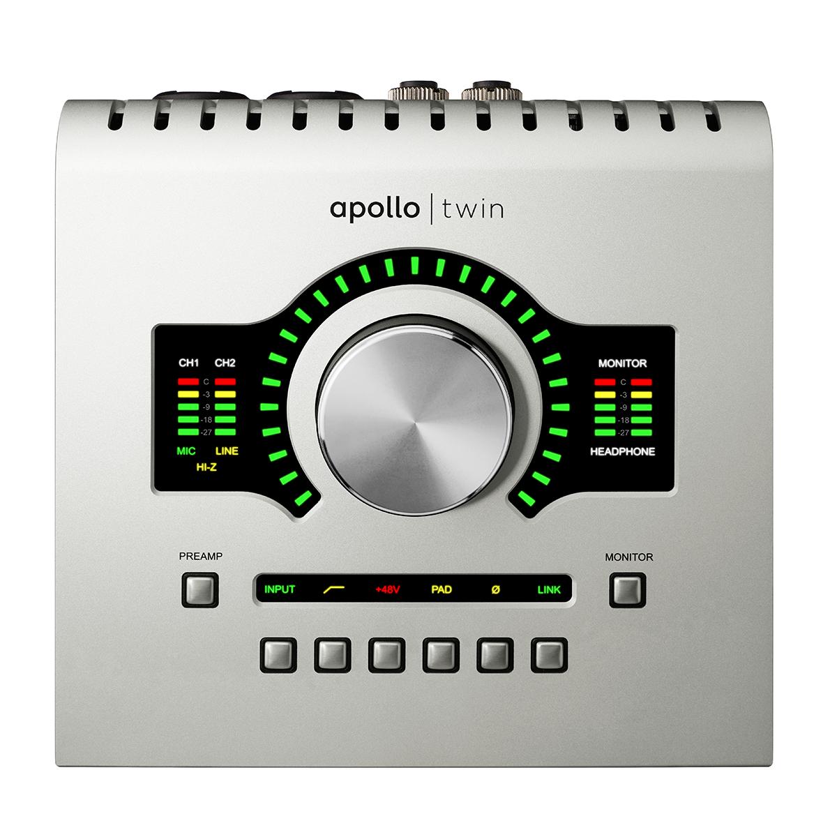 Apollo Twin USB Interface w/ DUO Processing (Win)