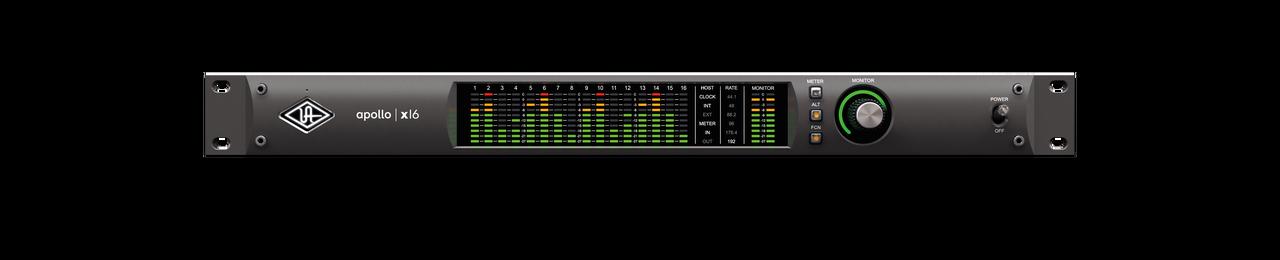 Apollo x16 Thunderbolt 3 Audio Interface