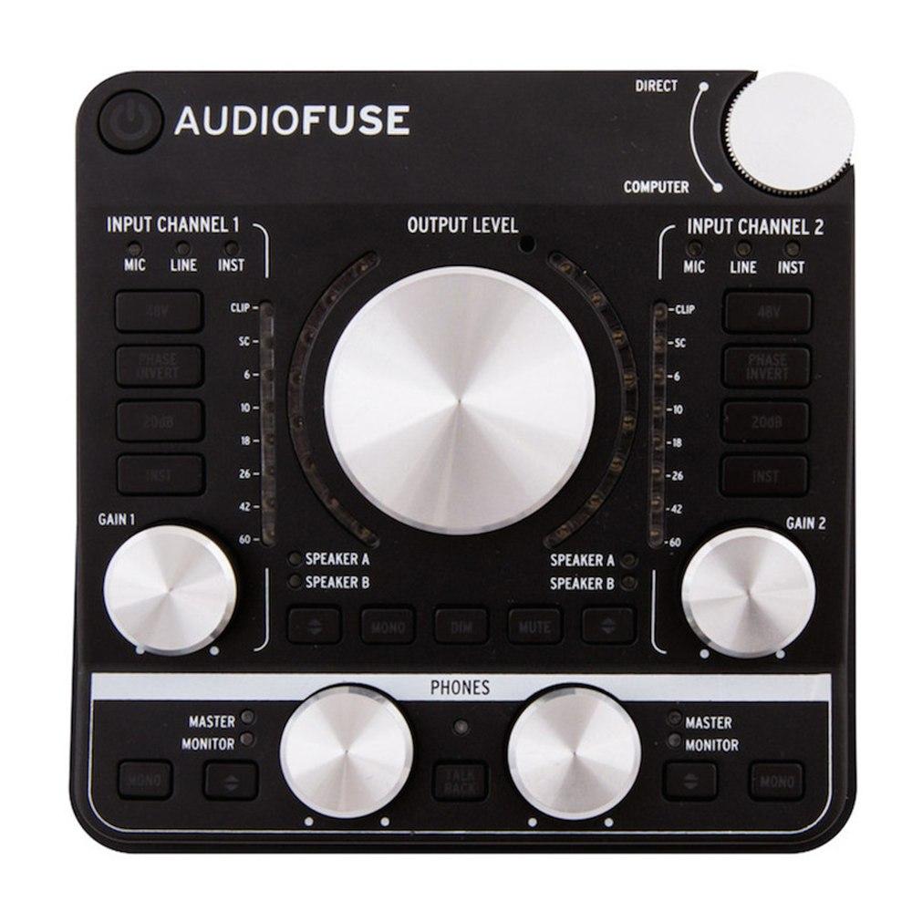 Arturia AudioFuse Interface (Deep Black)