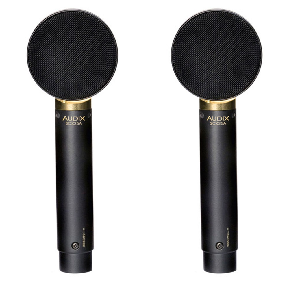 Audix SCX25 Matched Pair Of Condenser Microphones