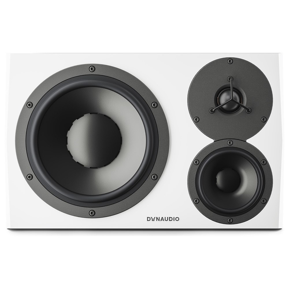 DYNAUDIO LYD-48 Personal Reference Monitors White (Left)