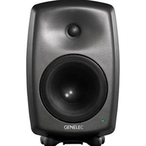 Genelec 8040BPM Active Studio Monitors, Dark Grey - Single