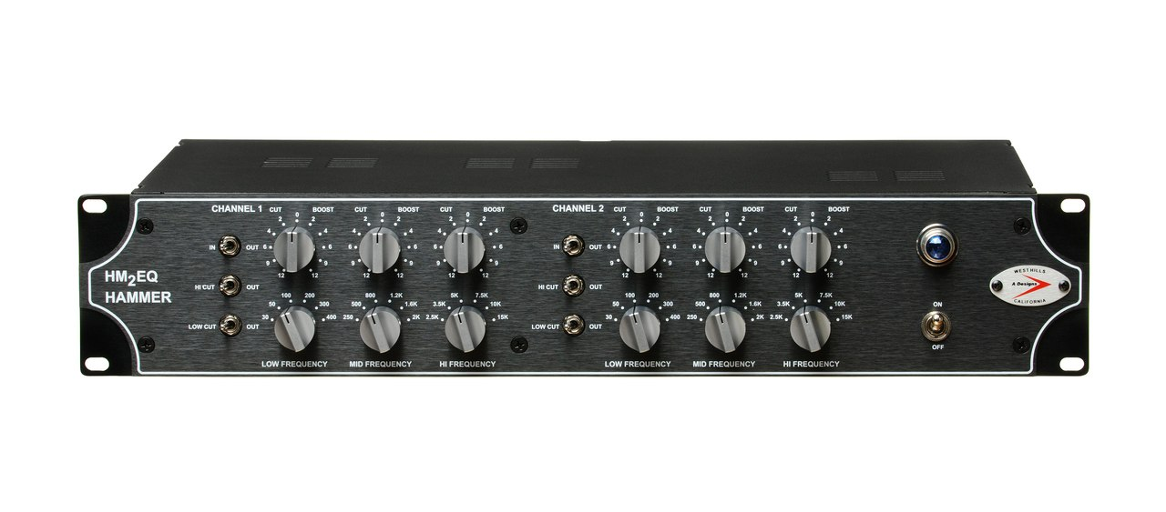 A-Designs HM2EQ Hammer Dual Channel Tube EQ