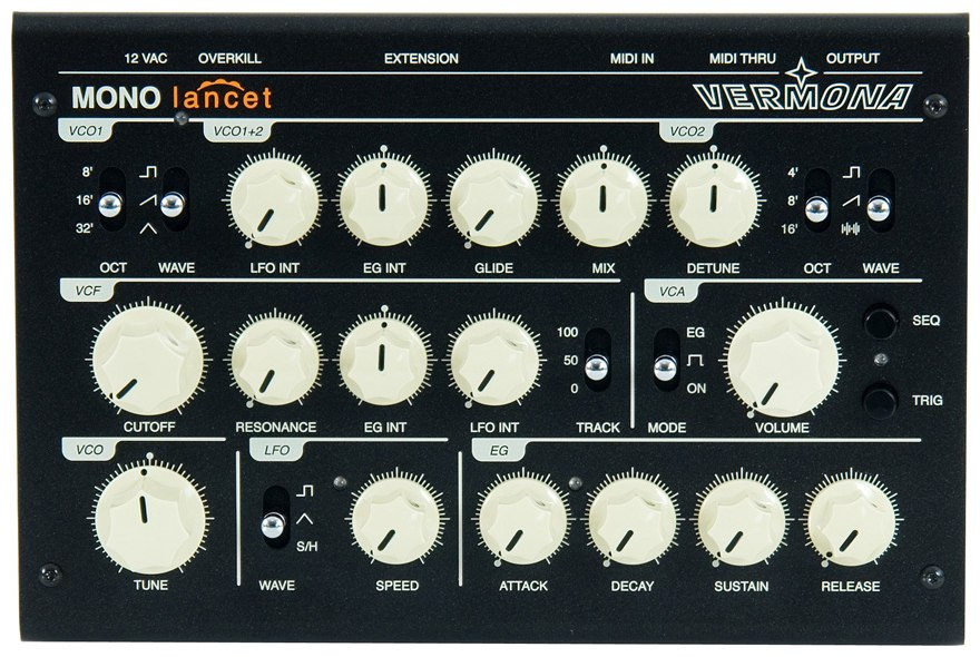 Vermona Mono Lancet Analogue Synthesizer