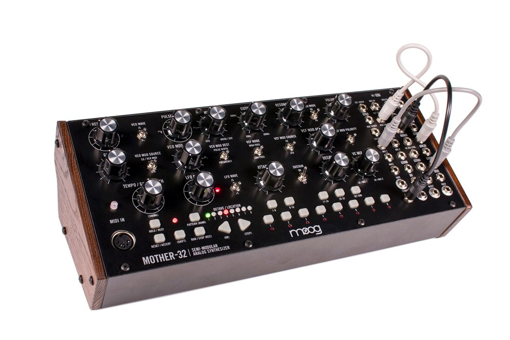 MOOG Mother-32 Semi Modular Analog Synthesiser