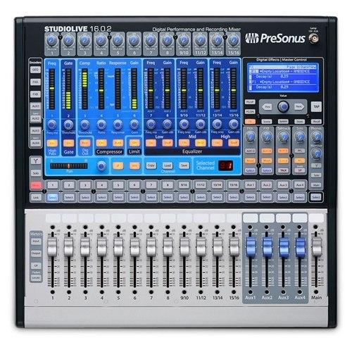 PreSonus StudioLive 16.0.2 Performance and Recording Digital Mixer