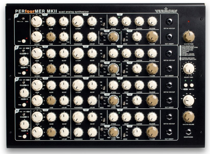 Vermona PERfourMER MKII Analogue Synthesizer
