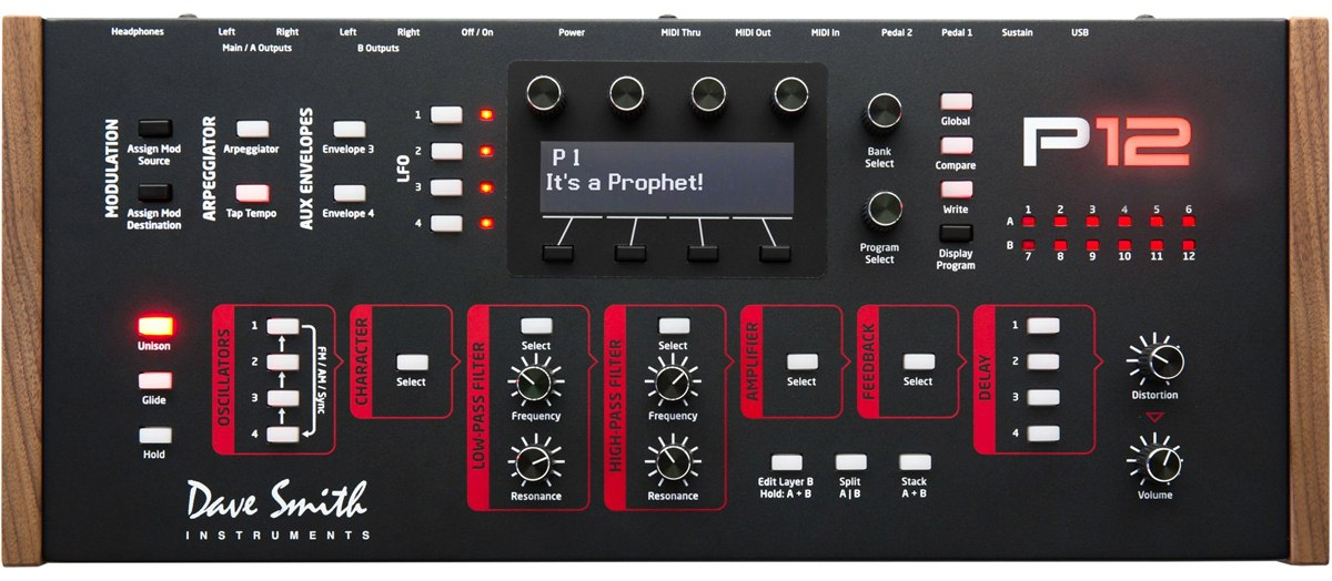 Dave Smith Instruments Prophet 12 Hybrid Synthesizer Module