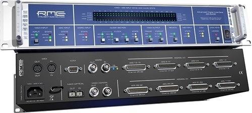 RME ADI-6432 24 Bit / 192 kHz, 2 x 64-Channel MADI / AES Converter