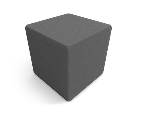 Universal Acoustics Comet Corner Cube Bass Trap Charcoal x 2