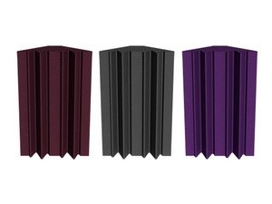 Universal Acoustics Mercury Bass Traps 600mm Burgundy x 4