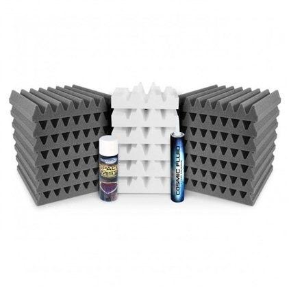 Universal Acoustics Mercury Cluster Room Treatment Kit, Charcoal