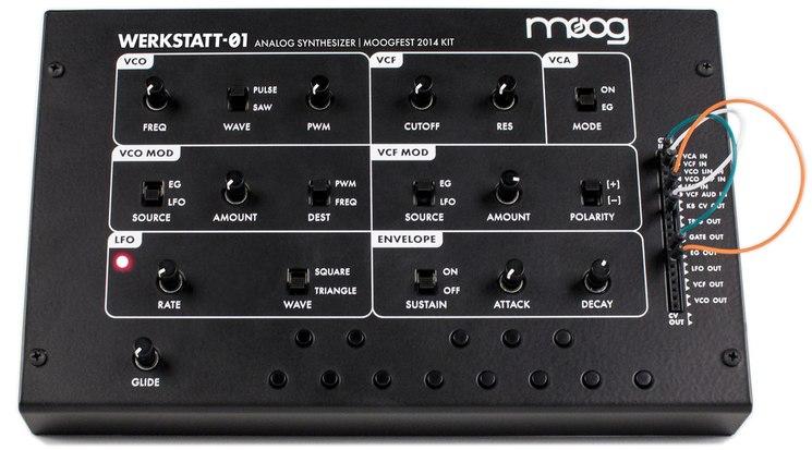 Moog Werkstatt-01 Analogue Synthesizer Kit