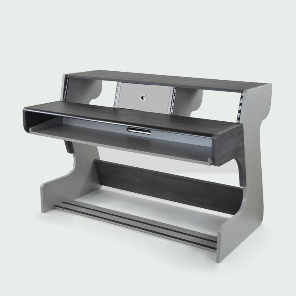 ZAOR MIZA 88 Studio Desk Grey Wengé