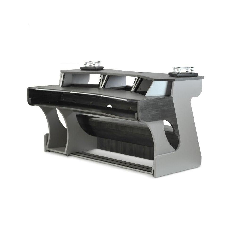 ZAOR MIZA X2 Studio Desk Grey Wengé