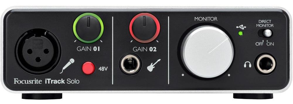 Focusrite iTrack Solo Lightning iPad Audio Interface