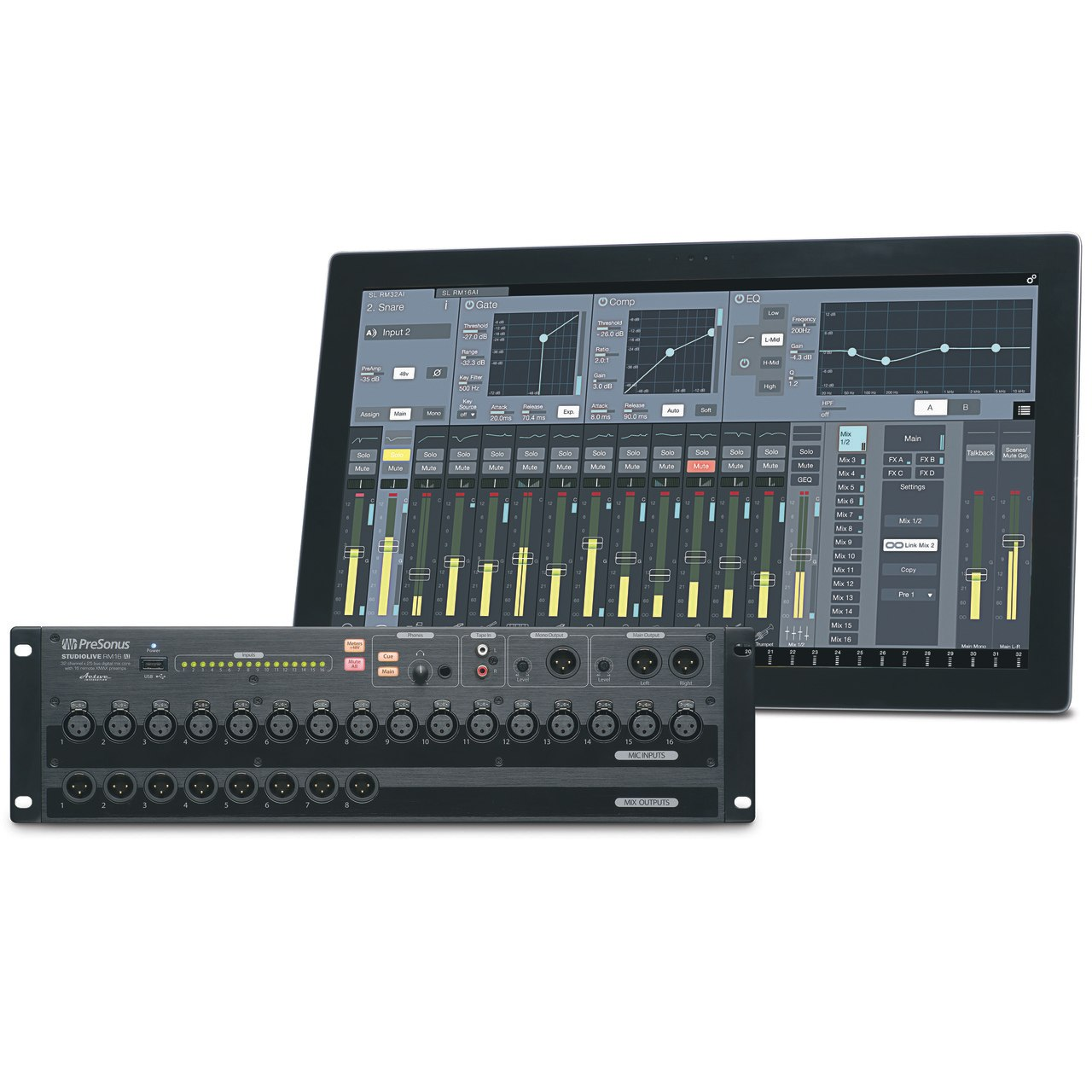 PreSonus StudioLive RM16AI Digital Mixer