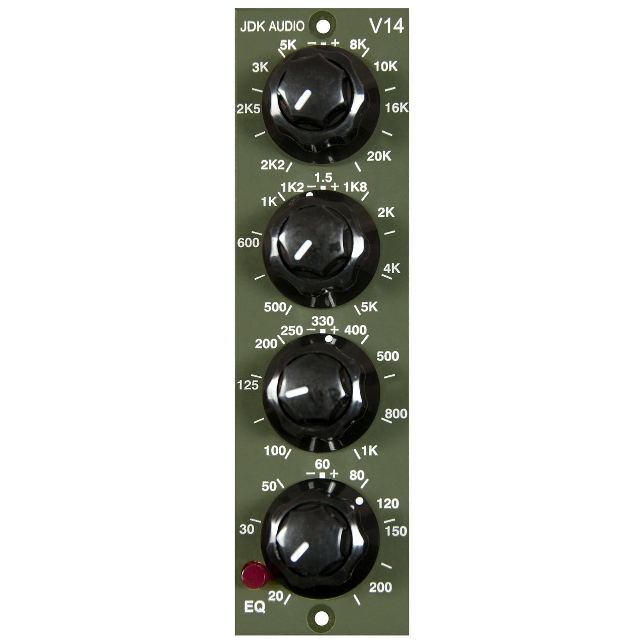 JDK Audio V14 500-Series 4 Band EQ Module