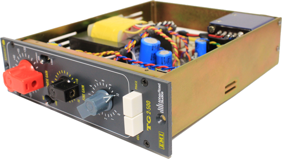 Chandler TG2-500 500 Series EMI/Abbey Road Mic Pre Amp available from Kazbar Systems