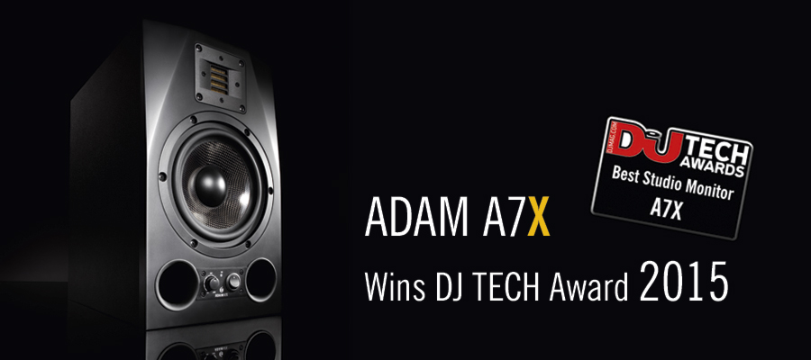 Adam A7X Active Monitor Speaker available from Kazbar Systems