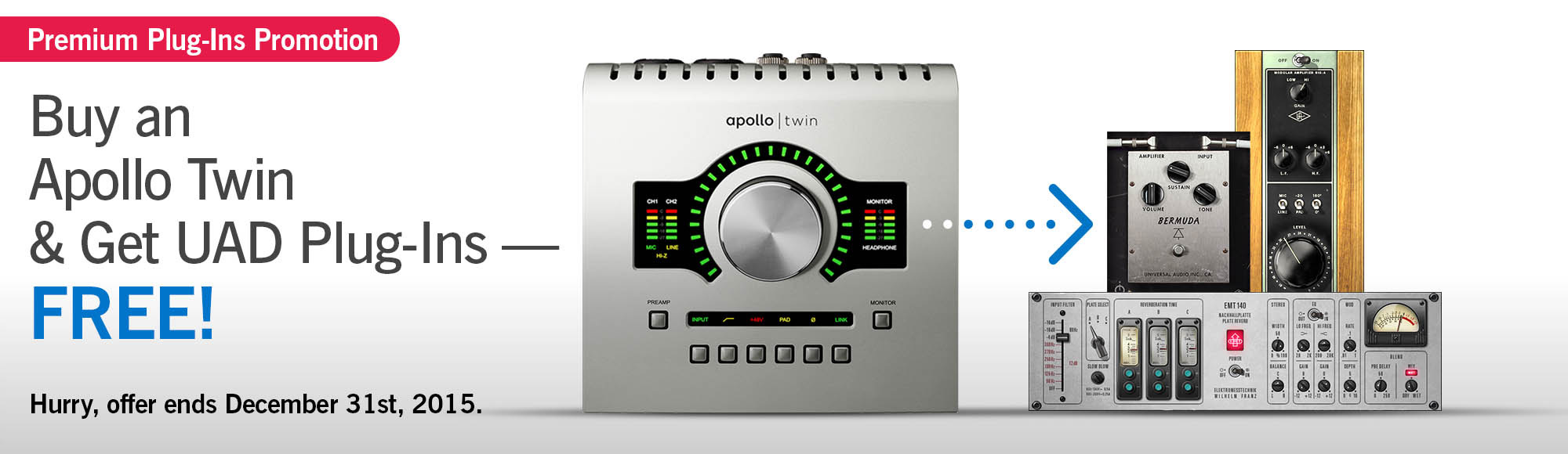 Universal Audio Apollo Twin available from Kazbar Systems