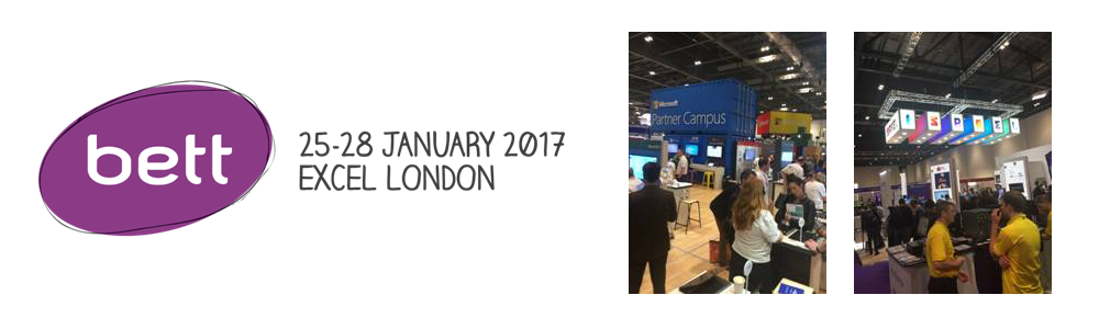 The BETT Show 2017 attended by Kazbar Systems