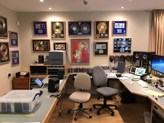Sir Cameron Macintosh Studio Installation from Kazbar Systems