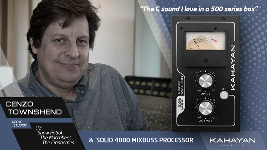 Kahayan Solid 4000 Mixbuss Processor from Kazbar Systems