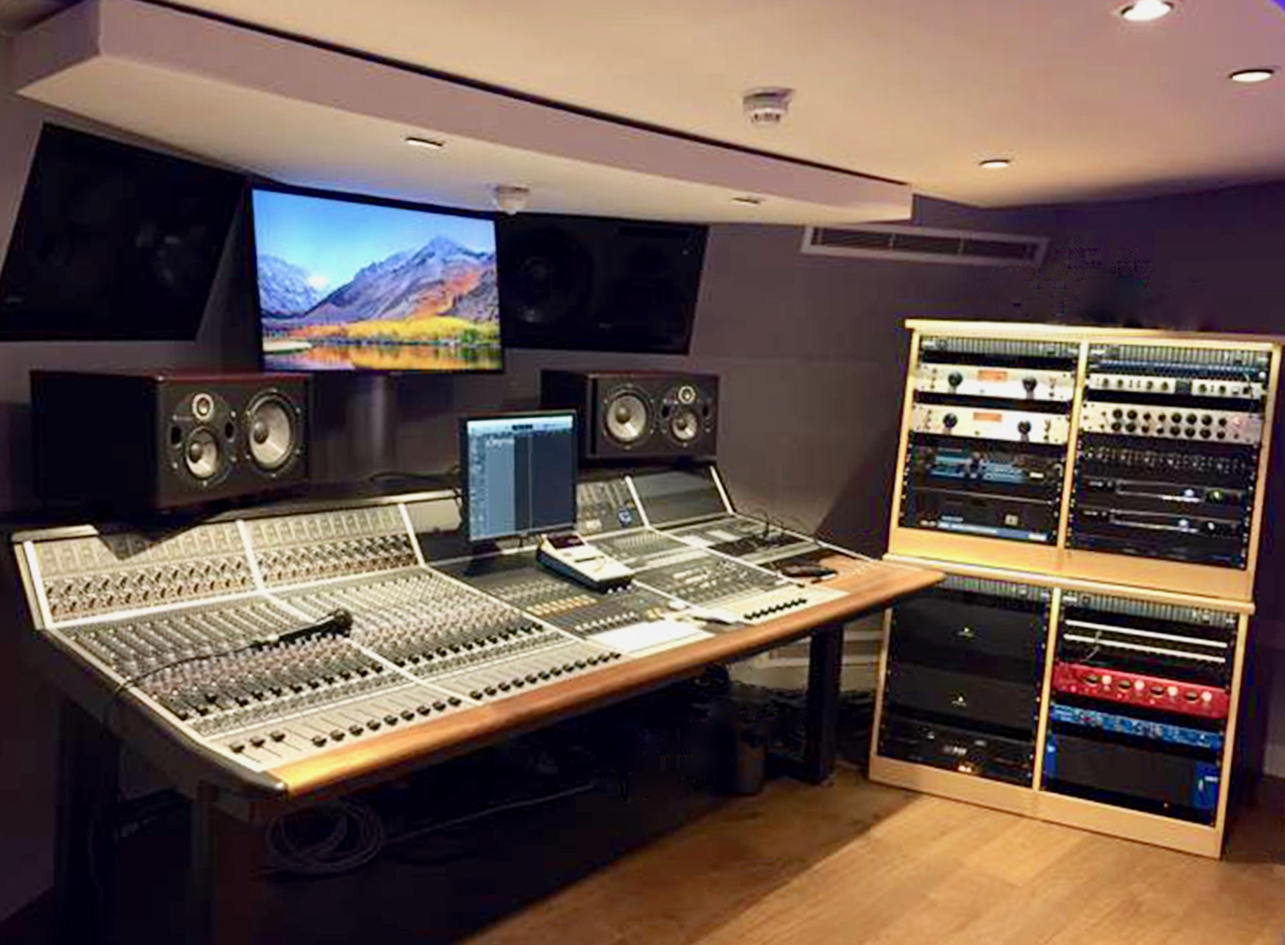 Kazbar Systems Designs and Builds a 5 Room Studio Complex for Nicholas Lloyd-Webber