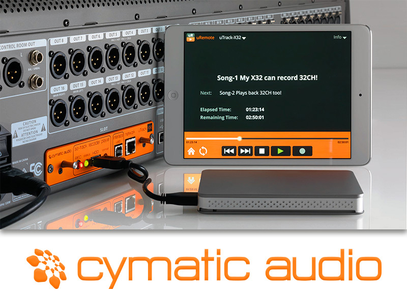 Cymatic Audio X-32 DIgital Recording Card available from Kazbar Systems