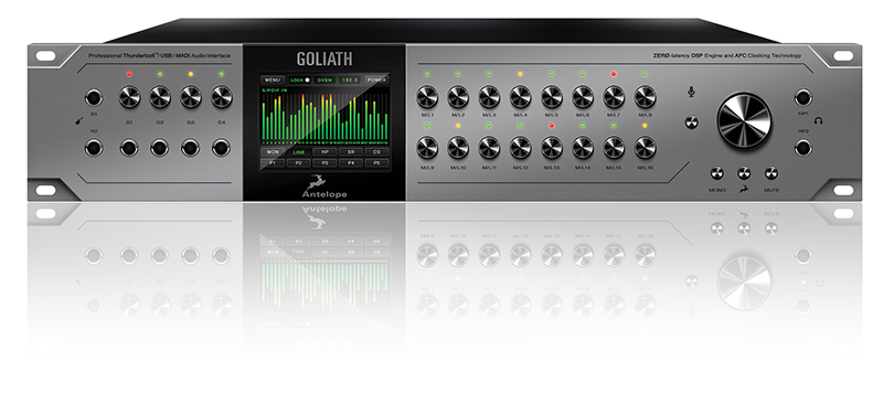 Antelope Audio The Goliath available from Kazbar Systems