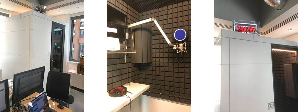 HKX Productions Recording Room from Kazbar Systems