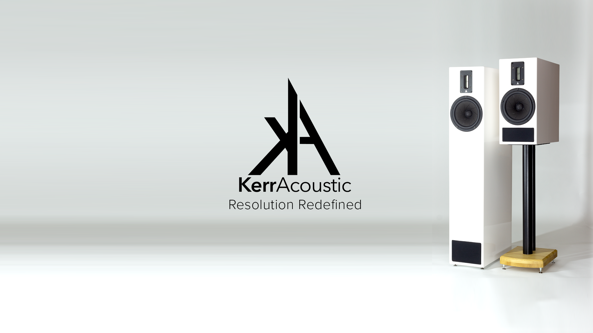 Kerr Acoustic K100 & K300 MKII Speakers available from Kazbar Systems