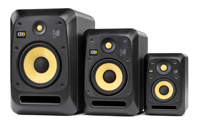KRK Speakers available from Kazbar Systems
