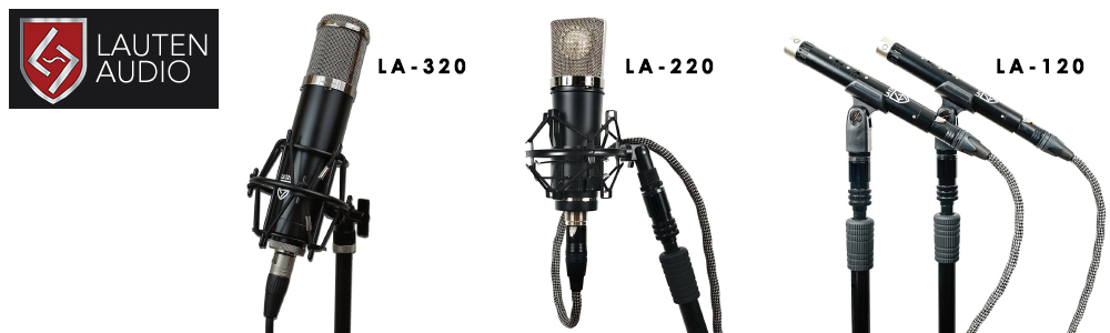 Lauten Audio Black Series available from Kazbar Systems