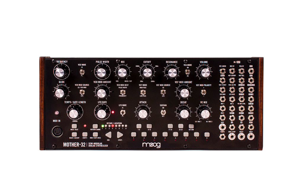 MOOG Mother-32 available from Kazbar Systems