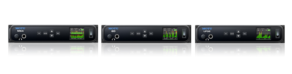 MOTU Audio Interfaces available from Kazbar Systems