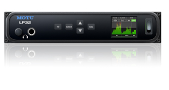 MOTU LP32 audio interface available from Kazbar Systems