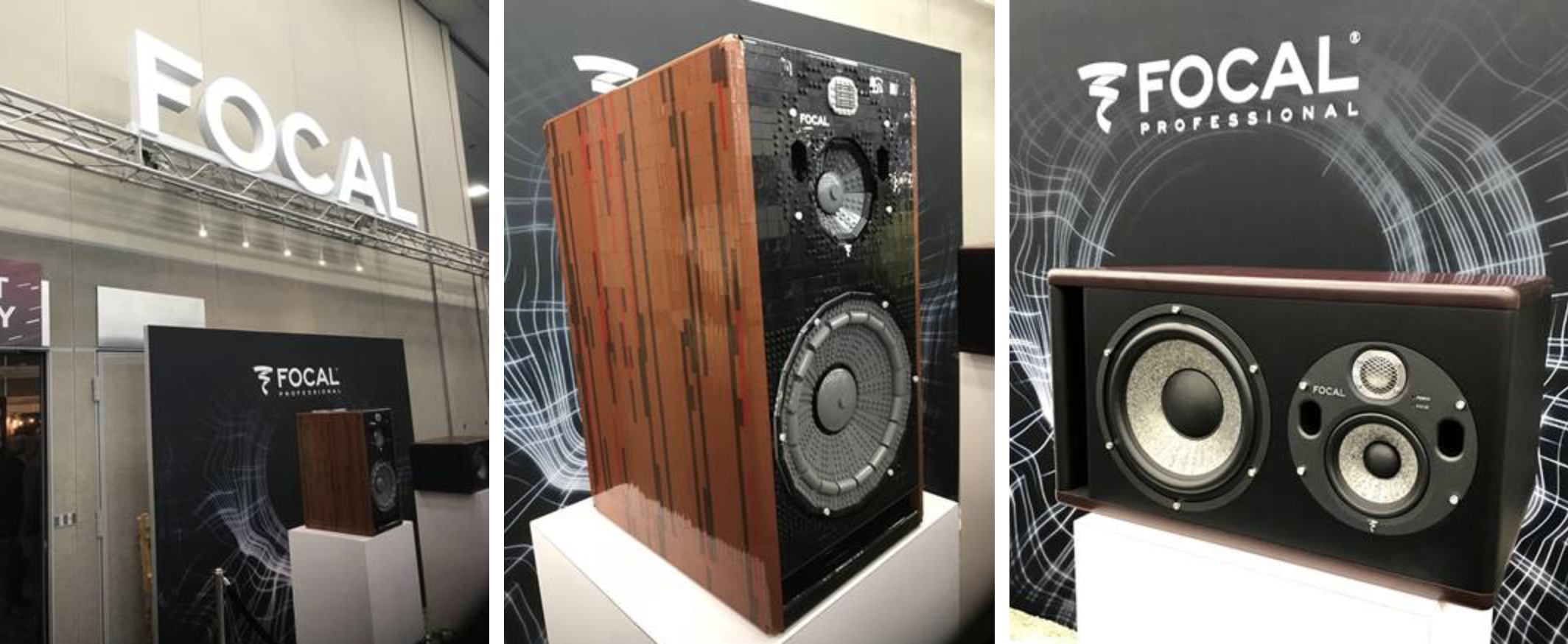 Focal Trio 11 BE at NAMM 2019 available from Kazbar Systems