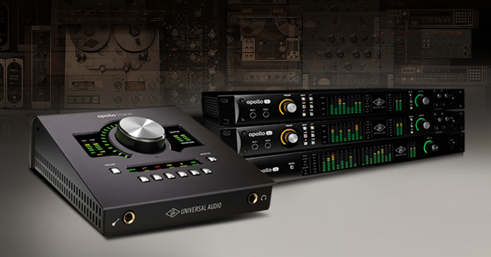 Universal Audio Apollo Twin Duo MKII available from Kazbar Systems