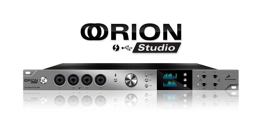 Antelope Orion 32 Studio available from Kazbar Systems