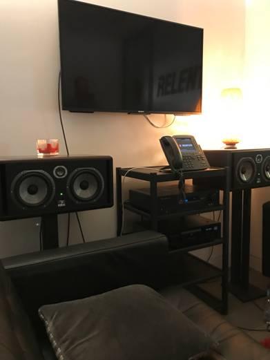 Relentless Records Audio Visual Installation - Kazbar Systems