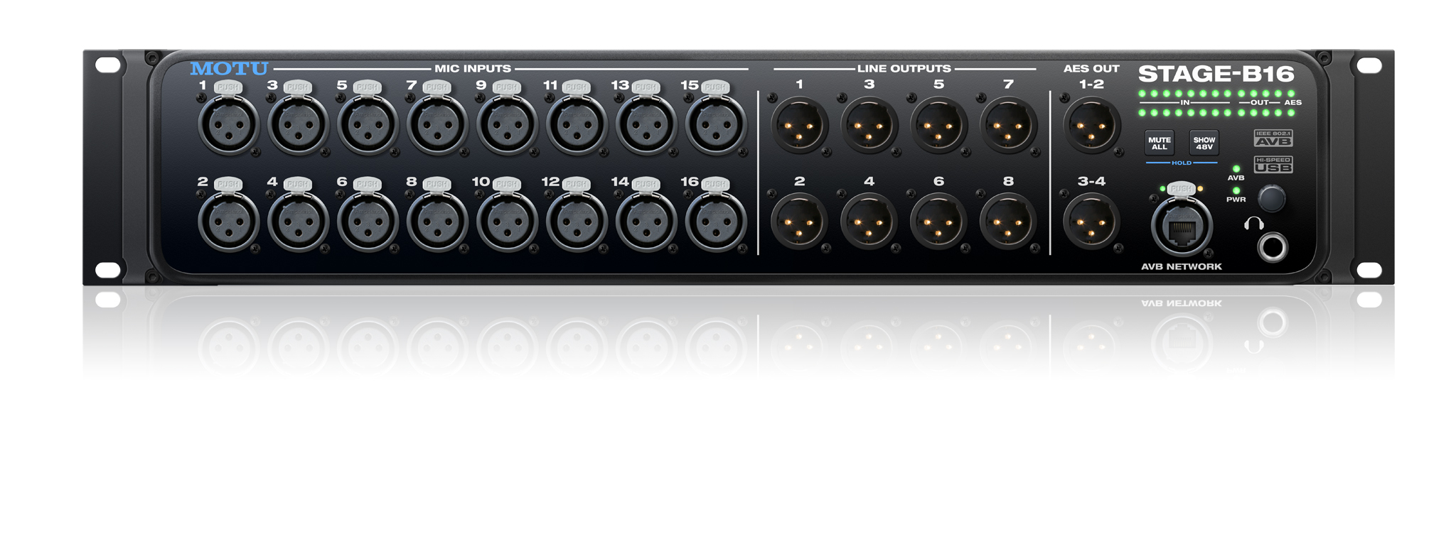 Motu Stage-B16 available from Kazbar Systems